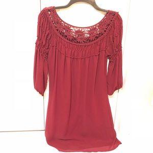 Dresses & Skirts - dark red dresses